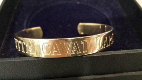 gioiello argento con incisione personalizzata