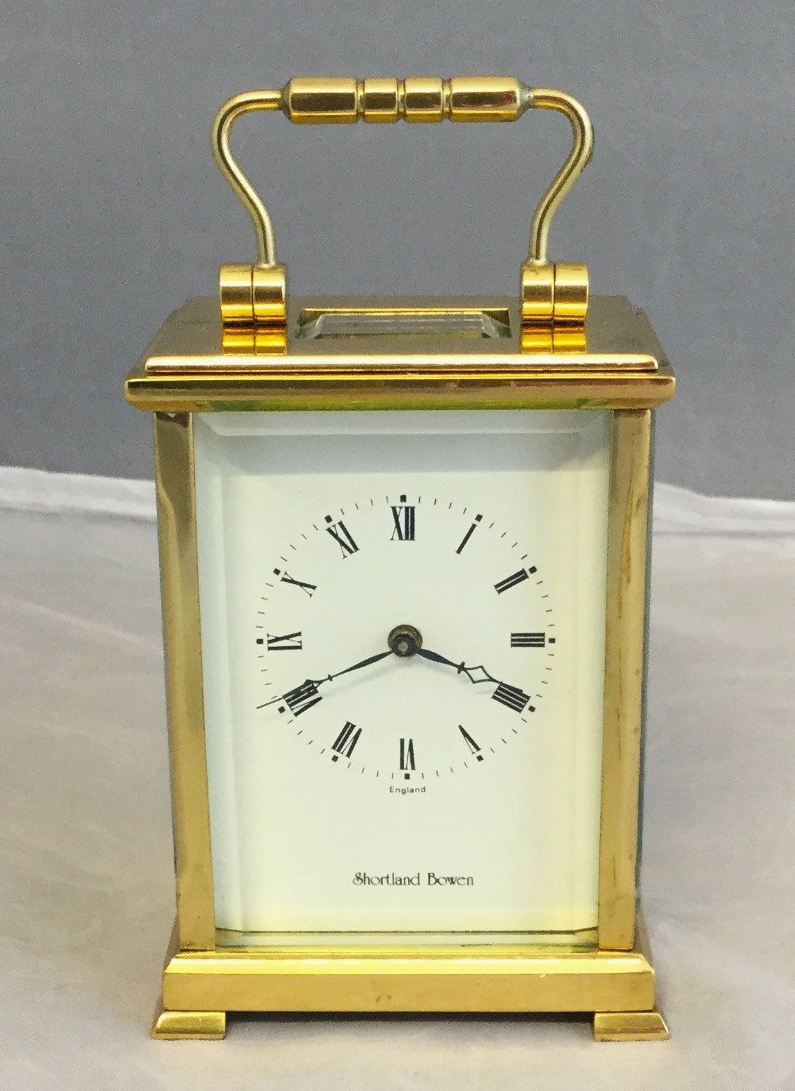 Miniature carriage timepiece