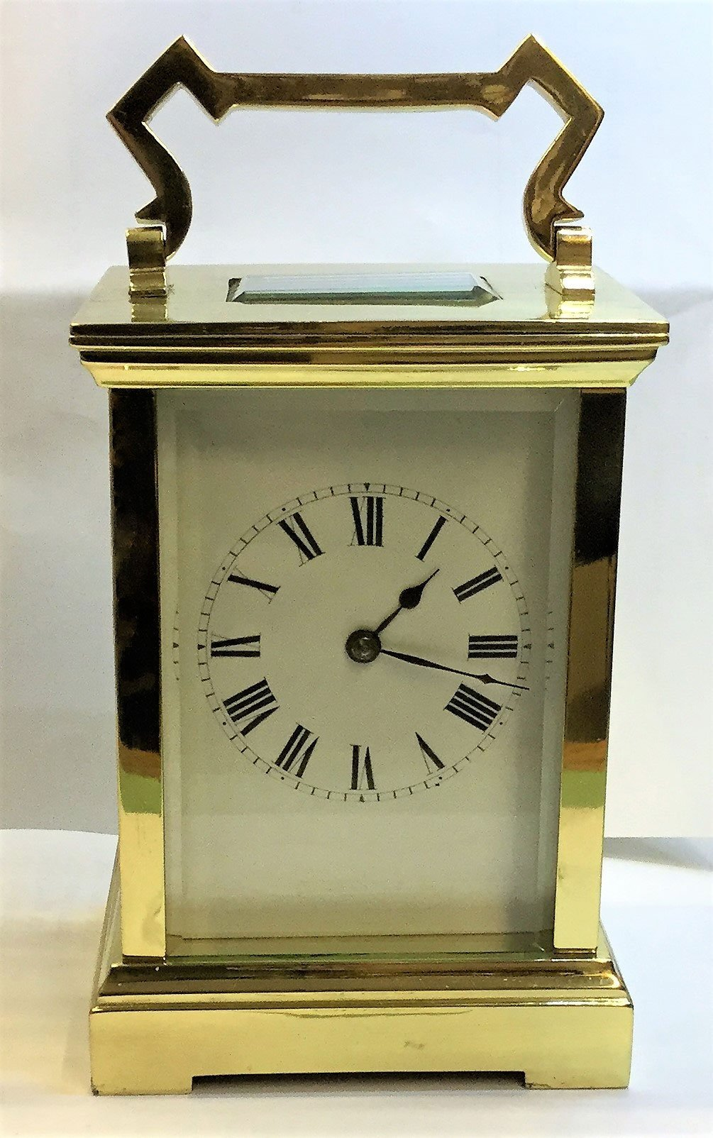 French striking carriage clock