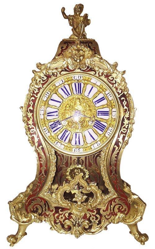 tortoiseshell mantel clock