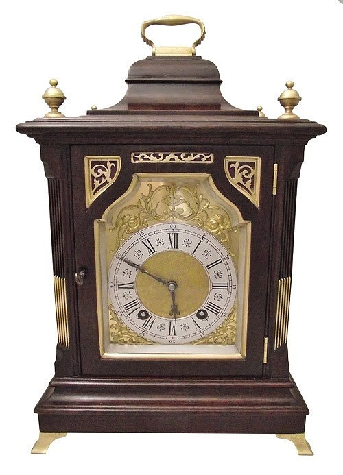 German ting tang mantel clock