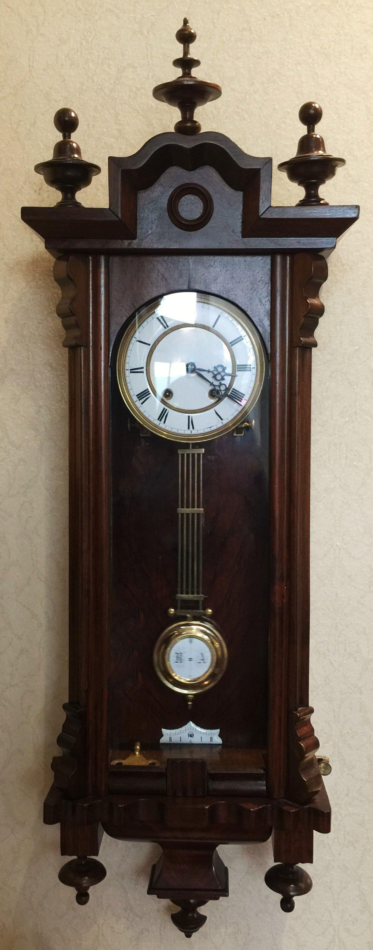 Spring Vienna regulator wall clock