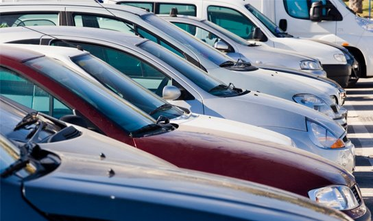 premier automotive cars in a row