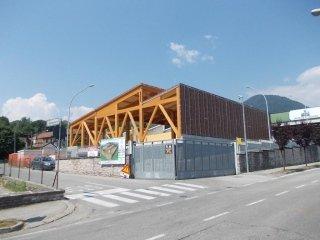 Birreria Pedavena in costruzione