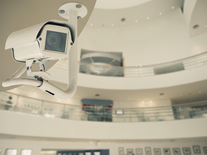 telecamera di sorveglianza