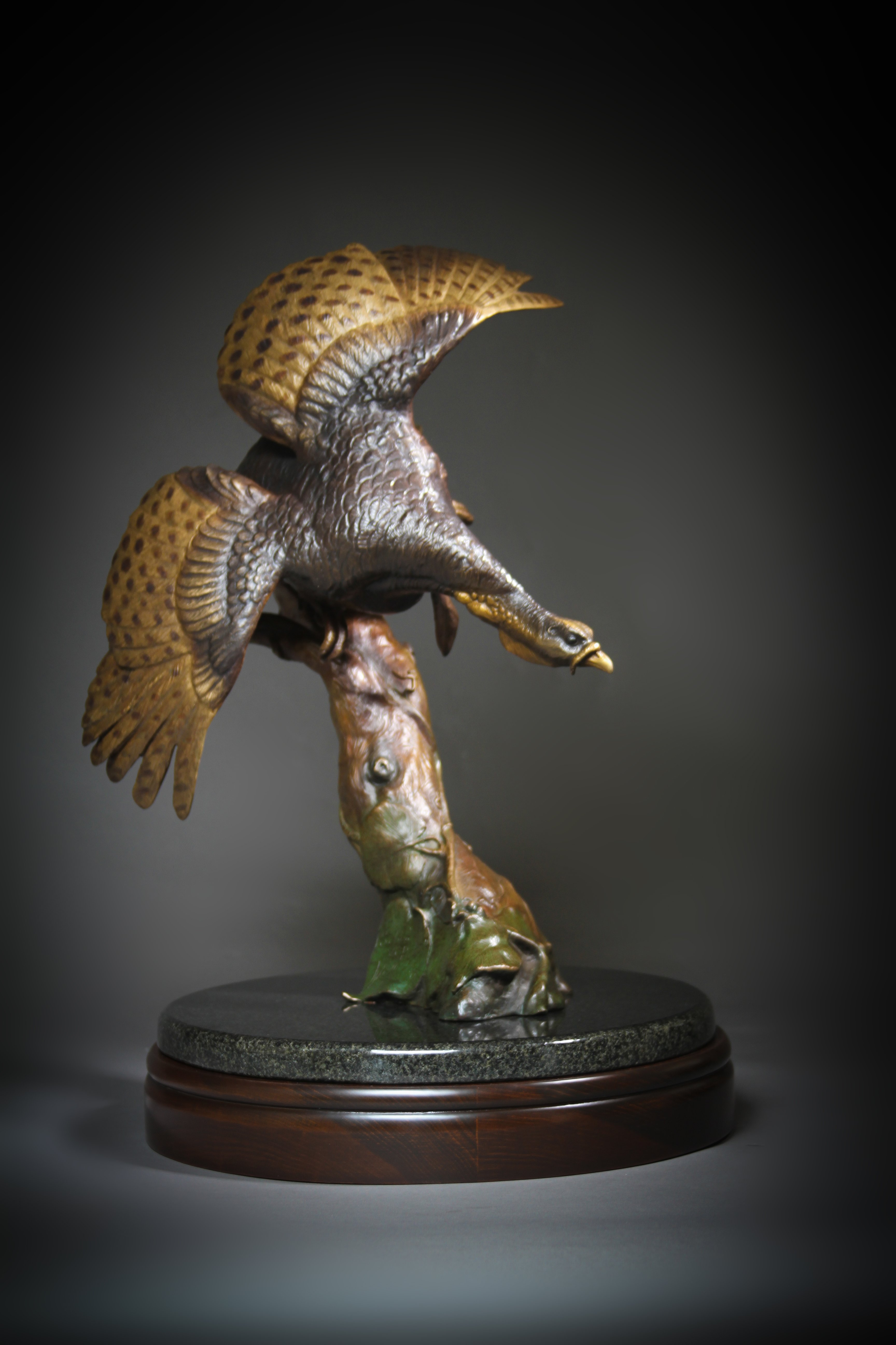 """Pitchin the Roost"" Height: 20"" Base: 13"""