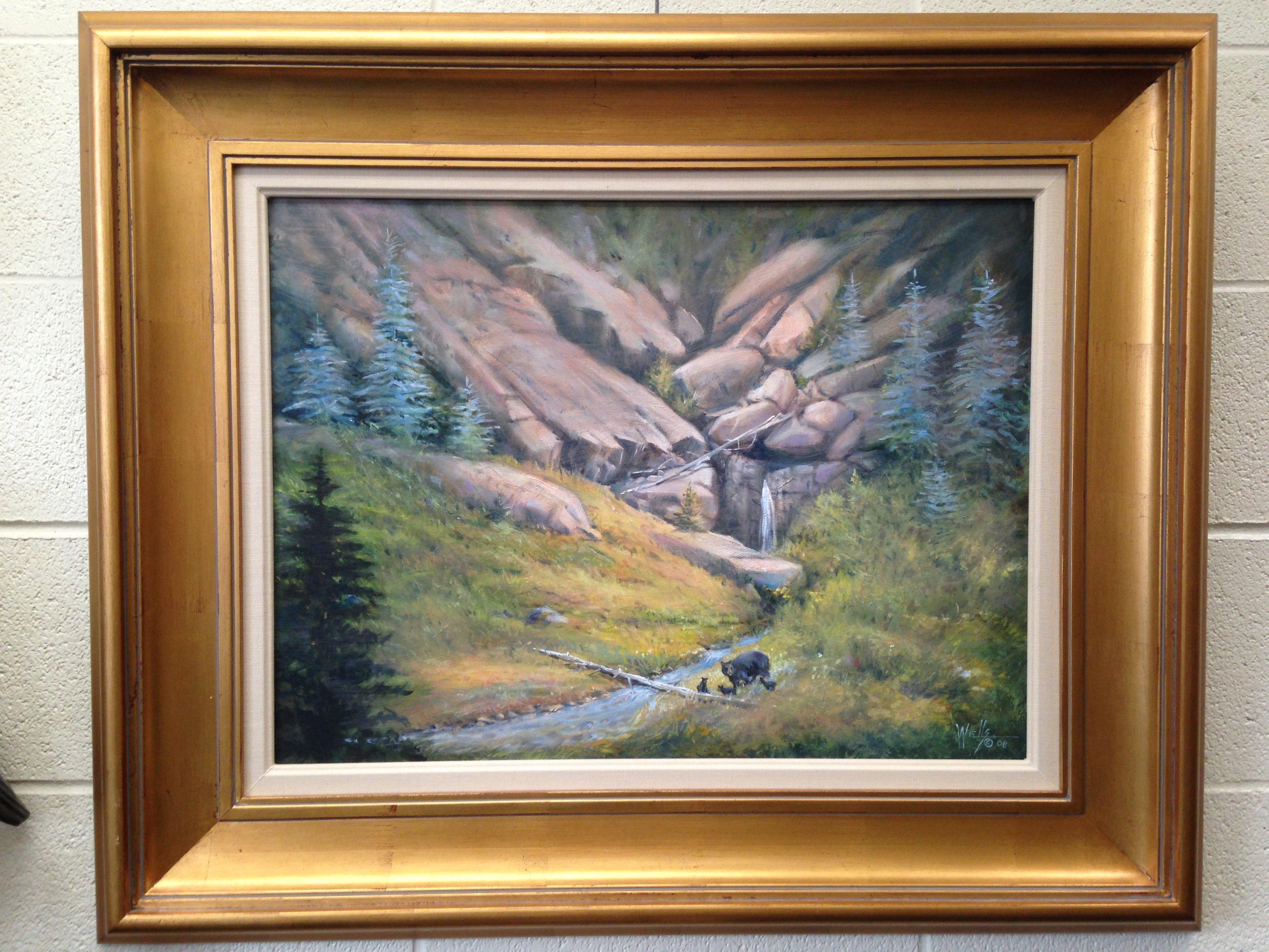 """""""Vail Valley"""" Framed 28x34 Unframed 18x24"""