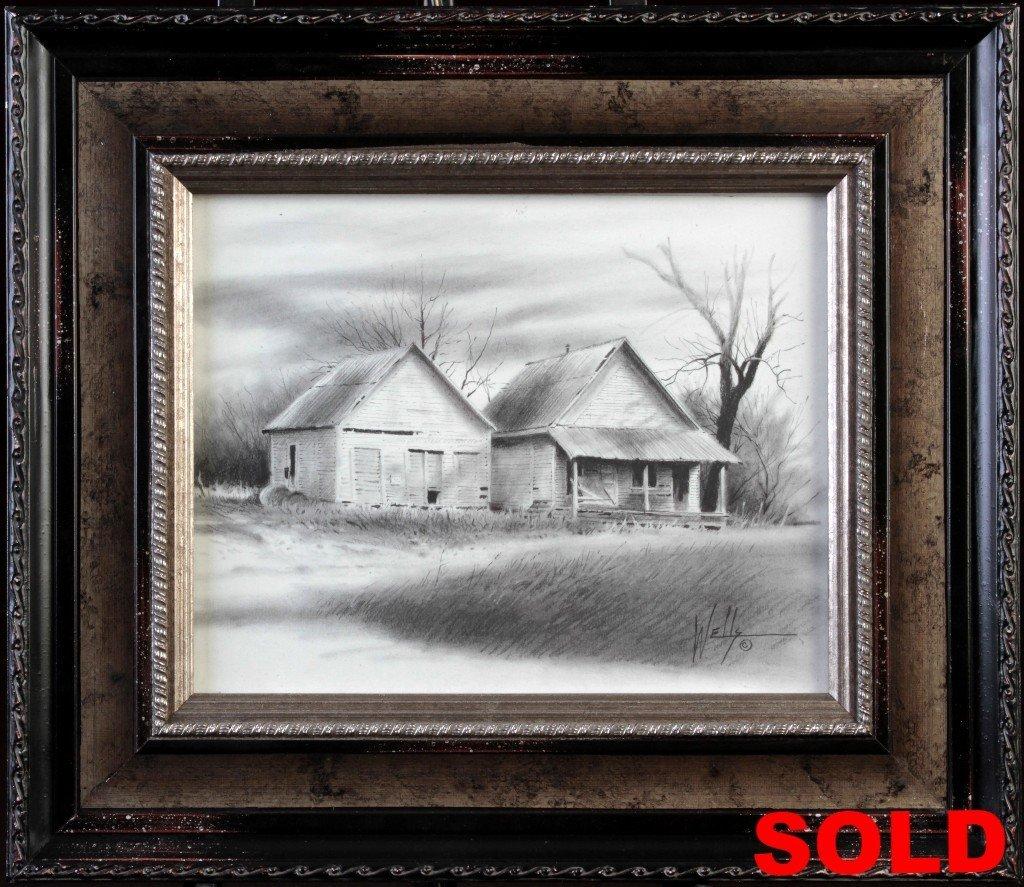"""Study of Buildings"" Framed 15x13 Unframed 8x10"
