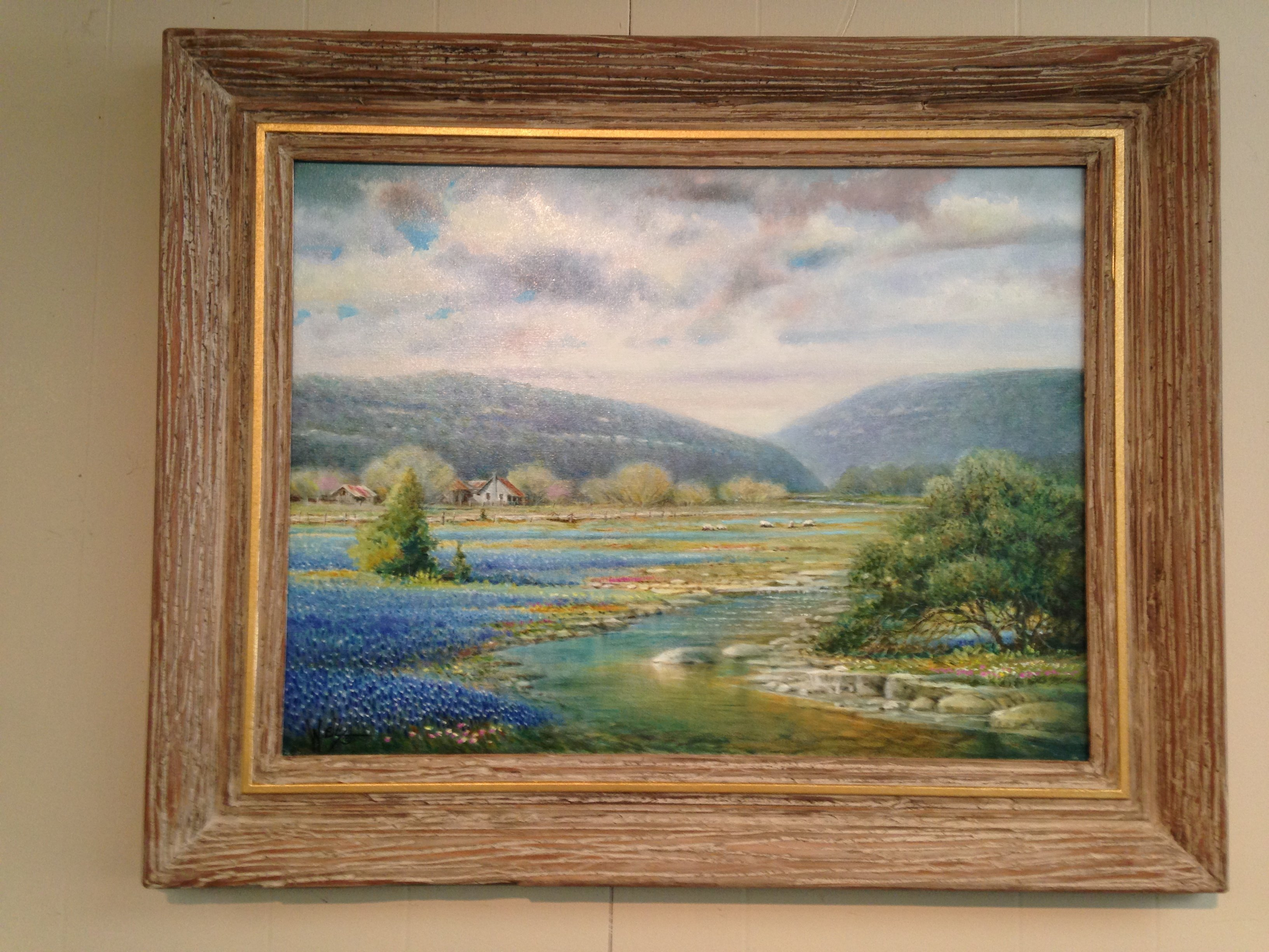 """""""Hill Country Valley""""  SOLD"""