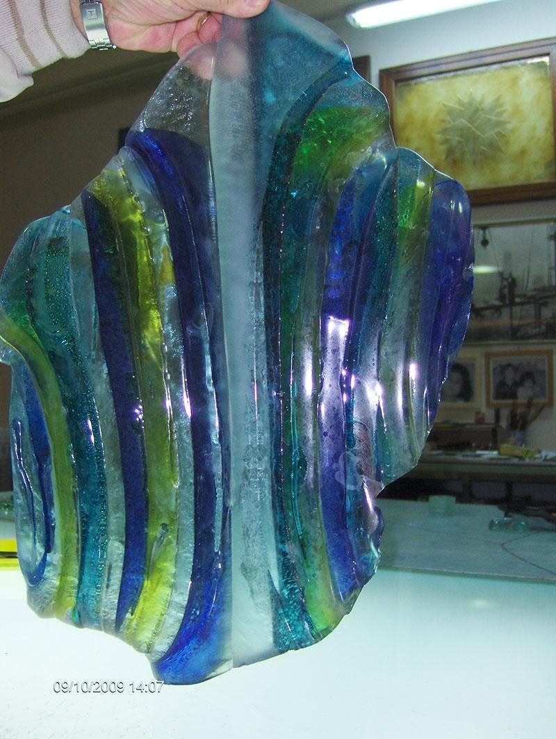 pietra vetro fusione