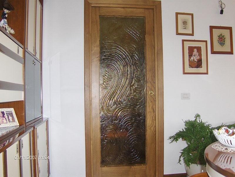 porta interna vetro fusione
