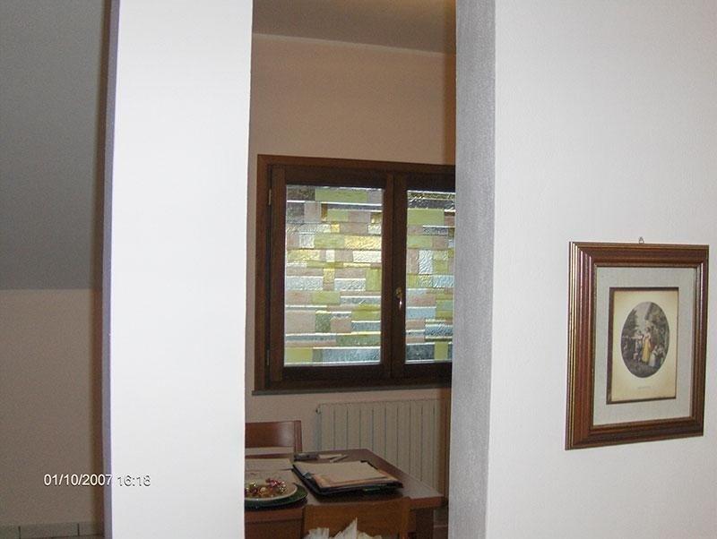 finestra vetro fusione