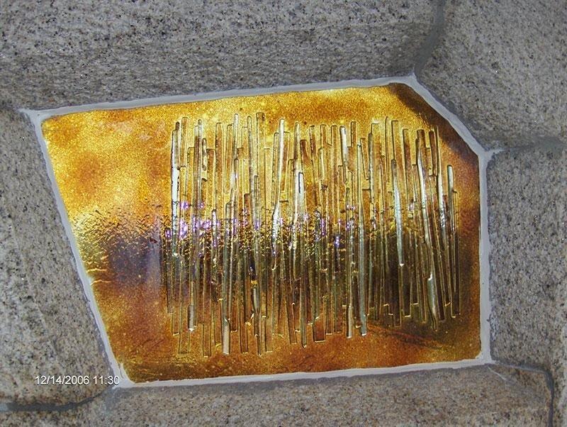 vetro fusione granito