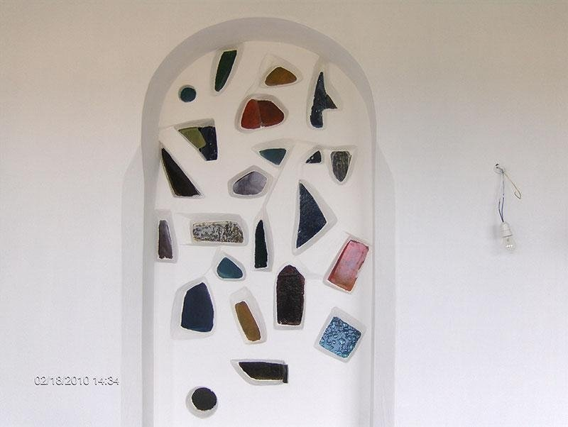 mosaico vetro fusione