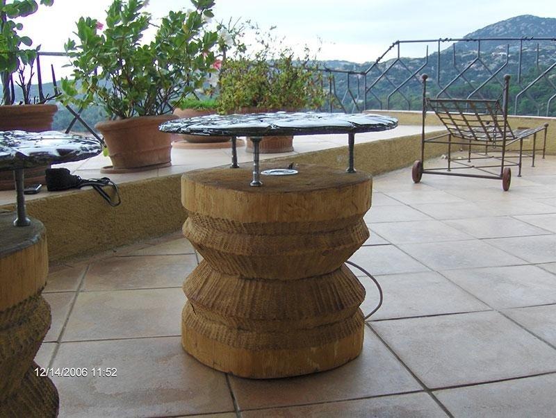 tavolini esterni illminati