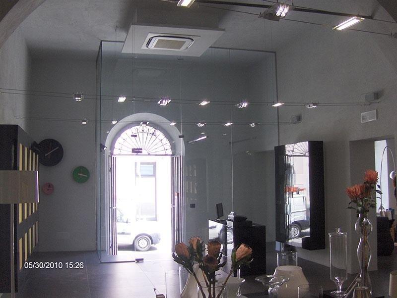 acciaio vetro