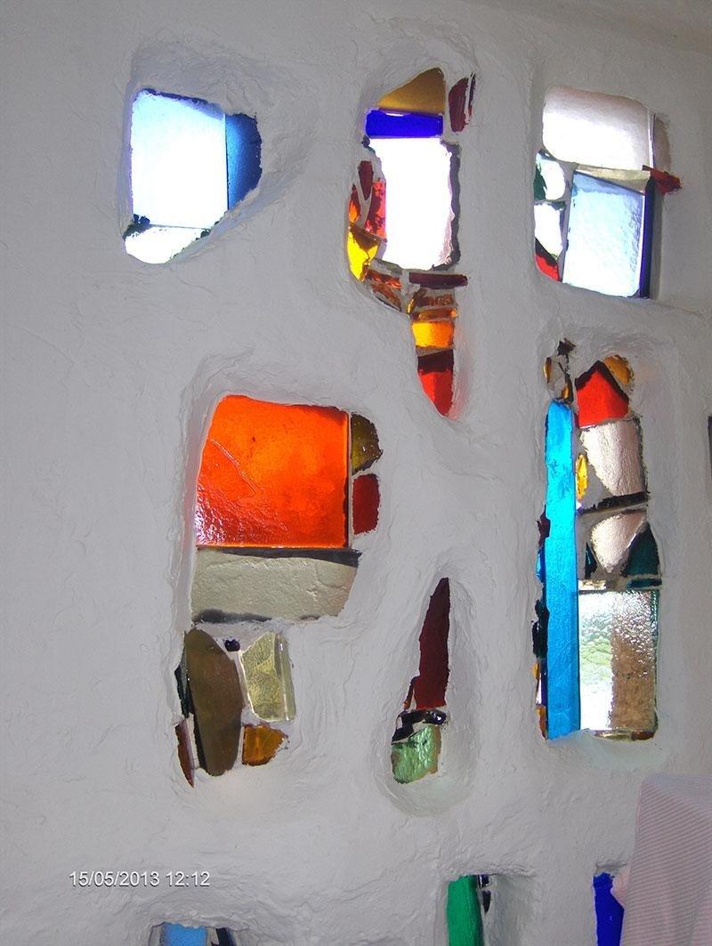 inserti vetro colorato