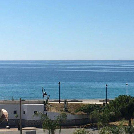 Panorama visibile dall'hotel Helios a Caulonia