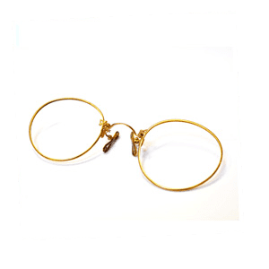 Glasses frames - Oxford - P B Conway Opticians - pince gold