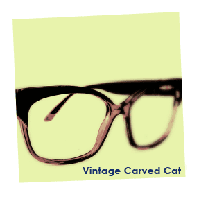 Dispensing opticians - Oxford - P B Conway Opticians - vintage carved cat