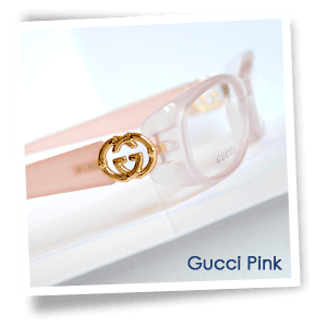 Dispensing opticians - Oxford - P B Conway Opticians - Gucci Pink