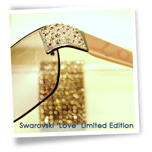 Dispensing opticians - Oxford - P B Conway Opticians - Swarovski Love Limited Edition