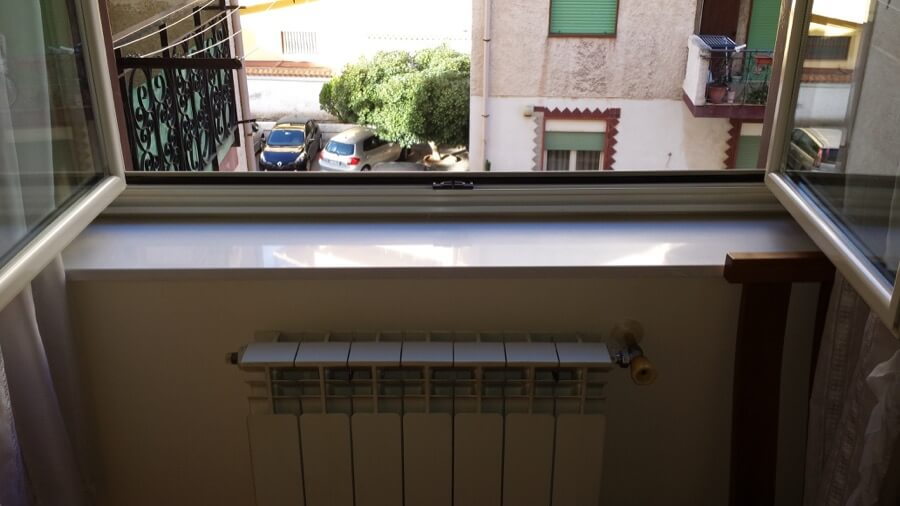 Parapetto di una finestra