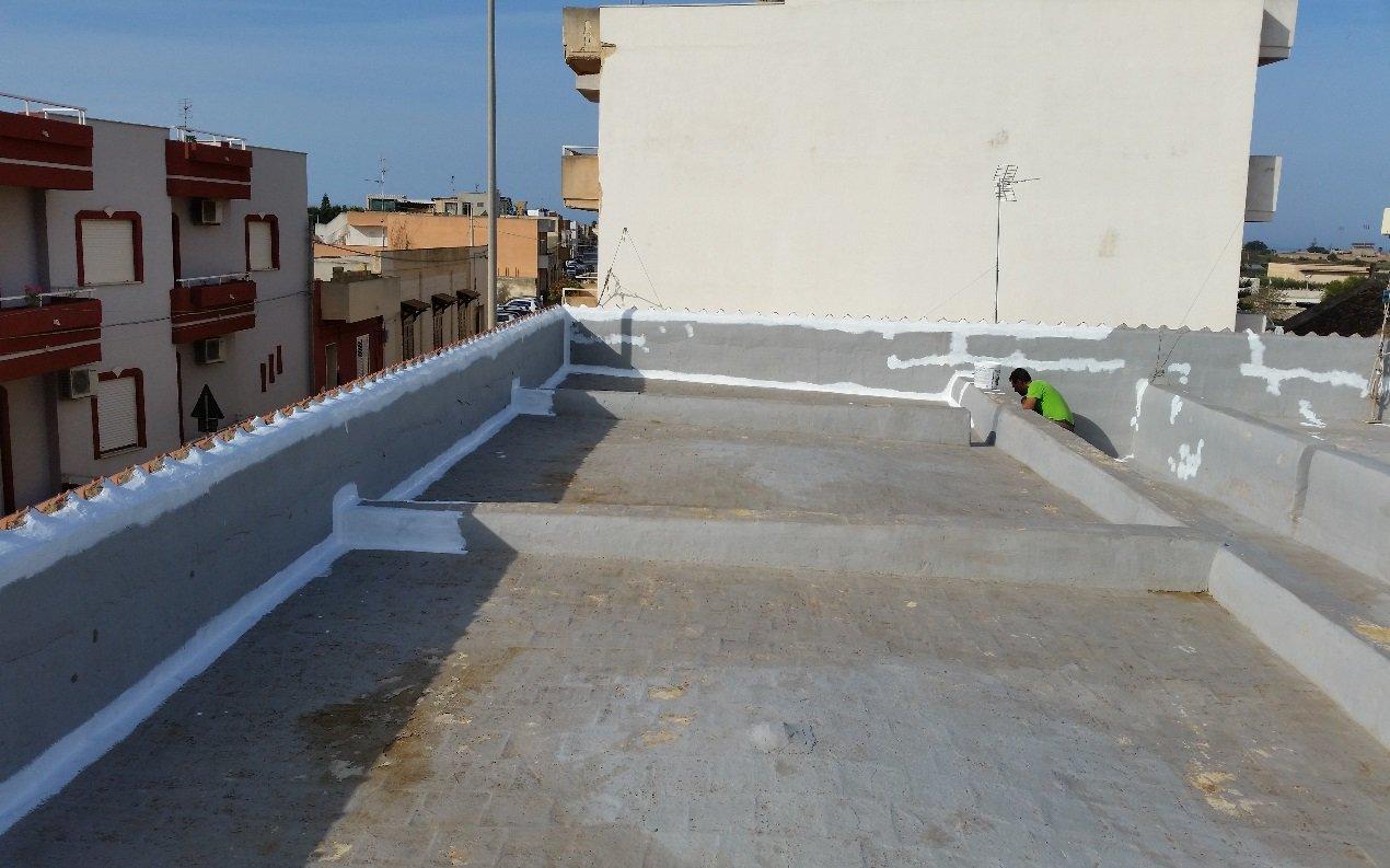 tetto prima del restauro