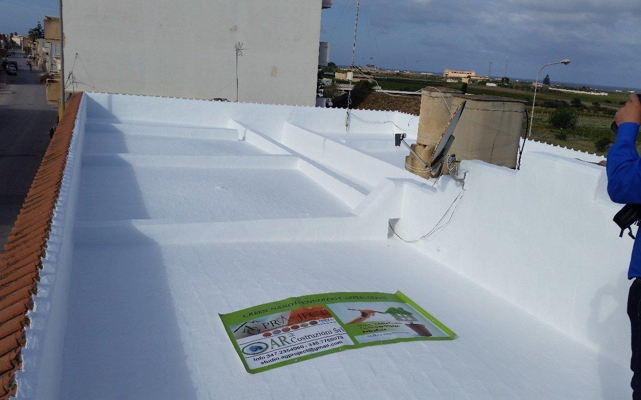 tetto dopo il restauro
