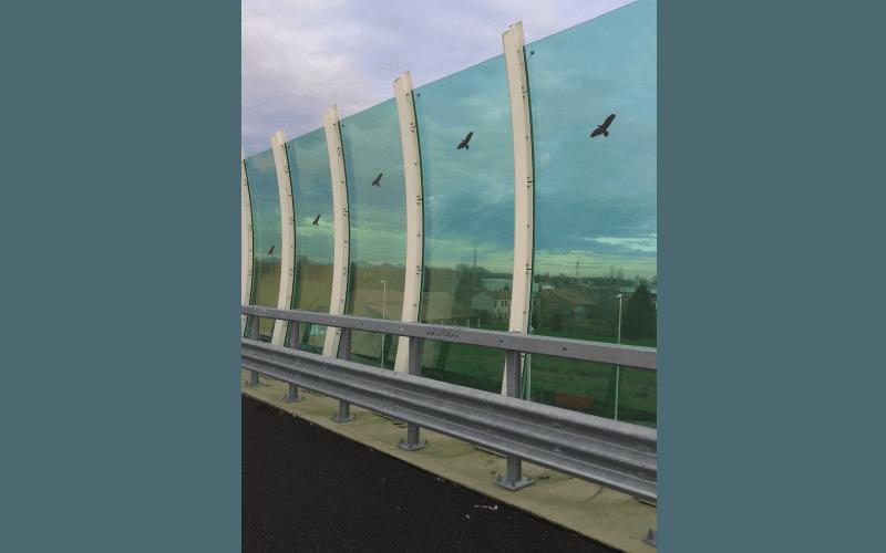 barriera trasparente