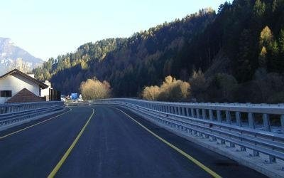 barriera strada acciaio
