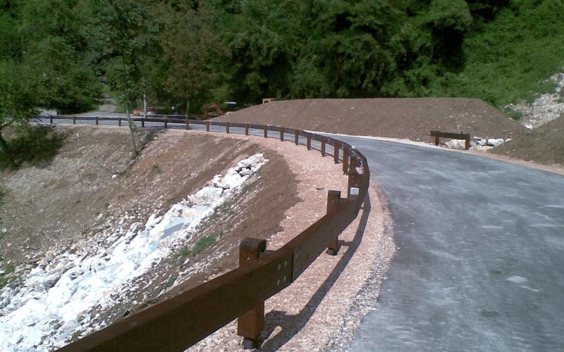 barriera strada N2
