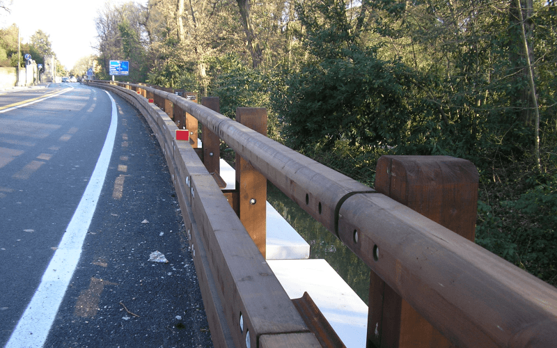 barriera legno