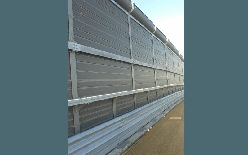 barriera stradale integrata