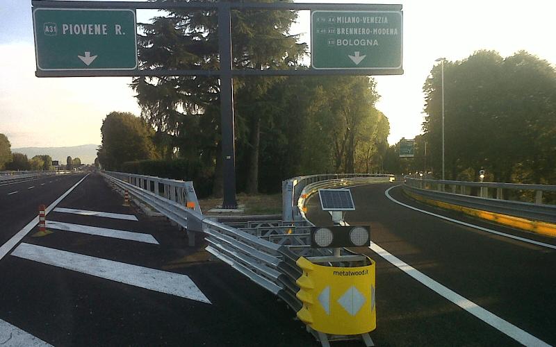 separatore uscita autostrada