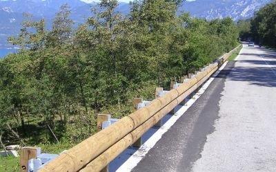 bordo barriera legno