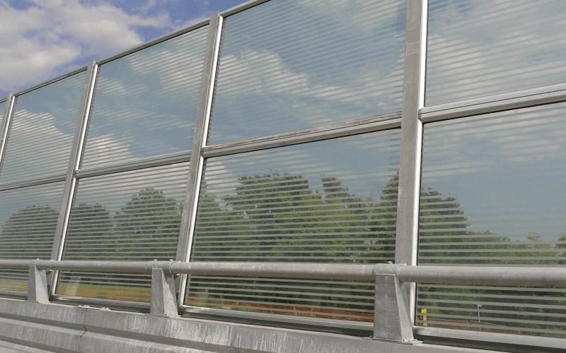 barriera trasparente autostrada