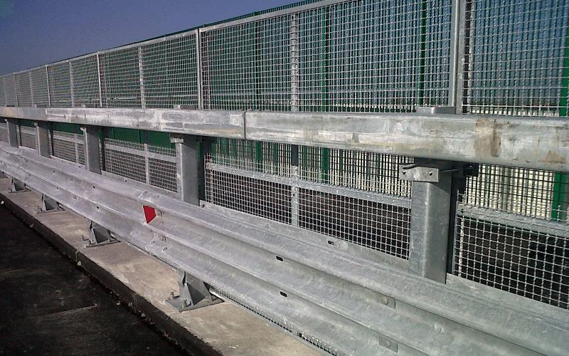 pannelli rete strada