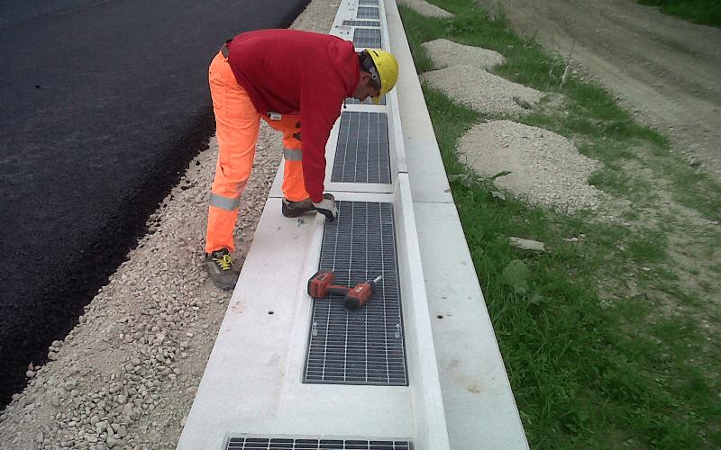 installazione grate stradali