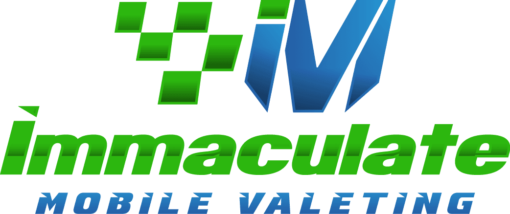 Immaculate mobile valeting logo