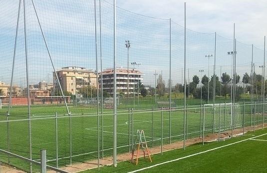 reti per campi da calcio