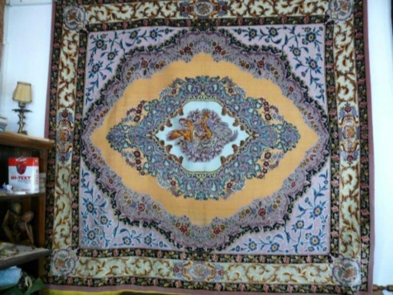 Il tappeto della Fenice  impiccando della parete