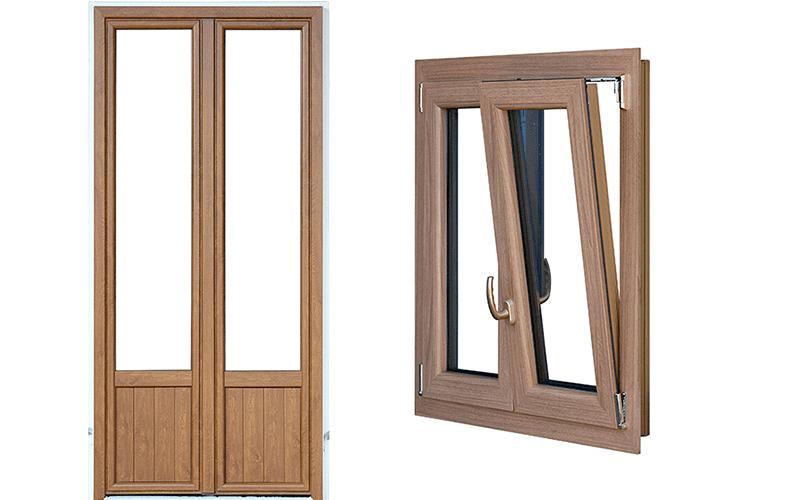 Vendita infissi in alluminio agliana pt lg serramenti - Porta finestra alluminio ...