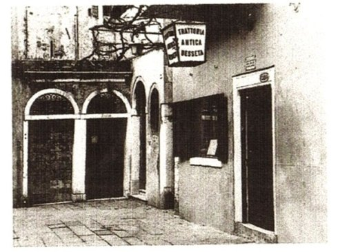 Old photos of the trattoria