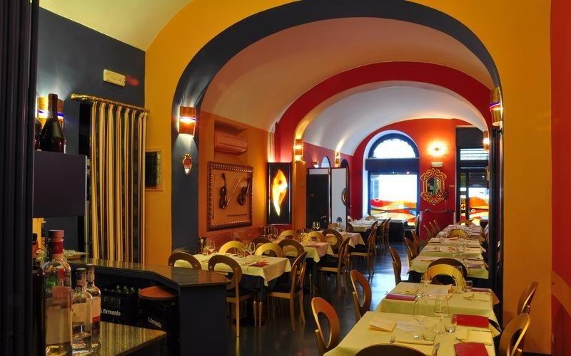 ambiente interno ristorante