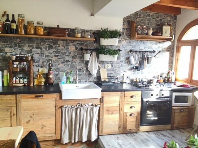 cucina a parete