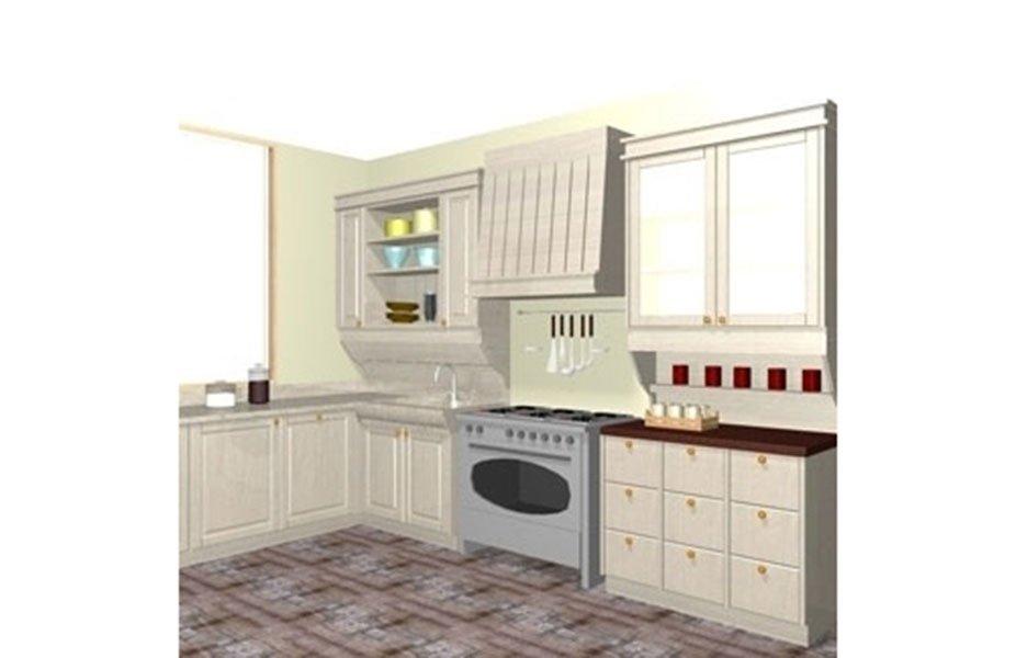 progetto cassettiera cucina