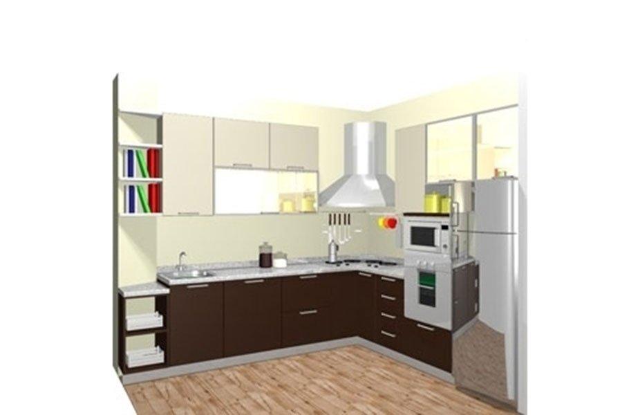 progetto cucina ad elle