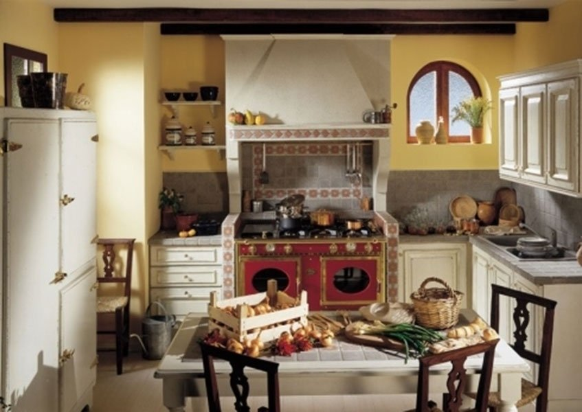 allestimento cucina