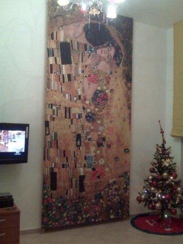 Arazzo - Il bacio di Klimt